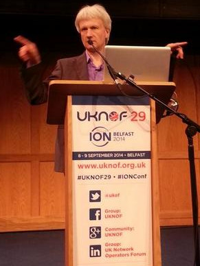 Keith at UKNOF