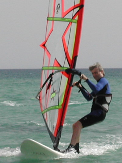 Keith Windsurfing